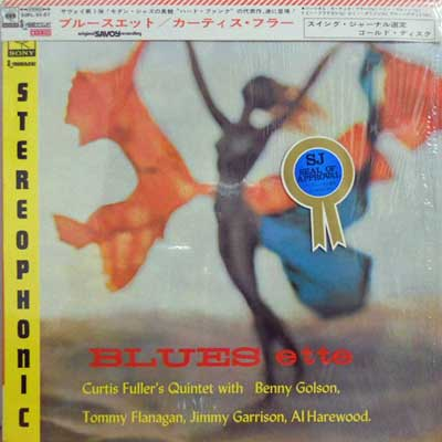 CURTIS FULLER - Blues Ette - LP