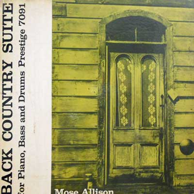 MOSE ALLISON TRIO - Back Country Suite - LP