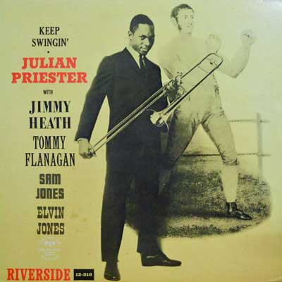 JULIAN PRIESTER - Keep Swingin' - LP