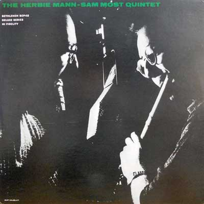 HERBIE MANN - SAM MOST QUINTET - Herbie Mann - Sam Most Quintet - LP