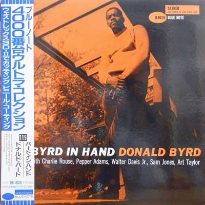 DONALD BYRD - Byrd In Hand - LP