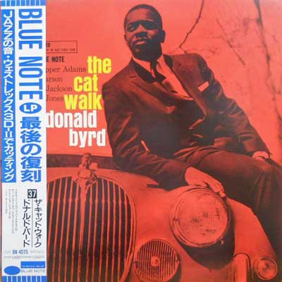 DONALD BYRD - The Cat Walk - LP