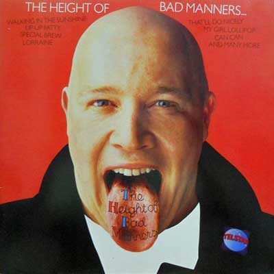 BAD MANNERS - The Height Of - LP
