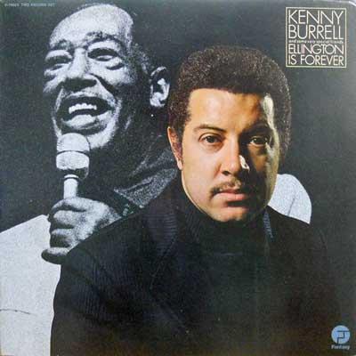 KENNY BURRELL - Ellington Is Forever - LP