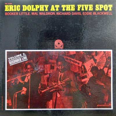 ERIC DOLPHY - At The Five Spot Vol.2 - LP