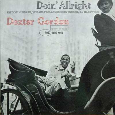 DEXTER GORDON - Doin' Allright - LP