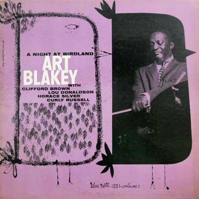 ART BLAKEY QUINTET - Vol. 1: A Night At Birdland - LP