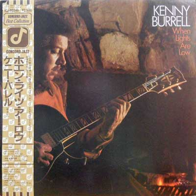 KENNY BURRELL - When Lights Are Low - LP