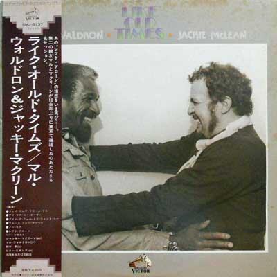 MAL WALDRON & JACKIE MCLEAN - Like Old Times - LP