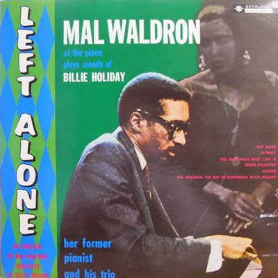 MAL WALDRON - Left Alone - LP
