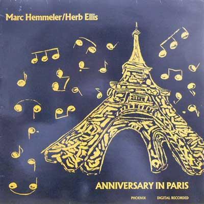 MARC HEMMELER HERB ELLIS - Anniversary In Paris - LP