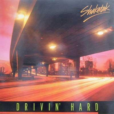 SHAKATAK - Drivin' Hard - LP