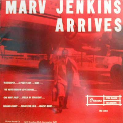 MARV JENKINS - Arrives - LP