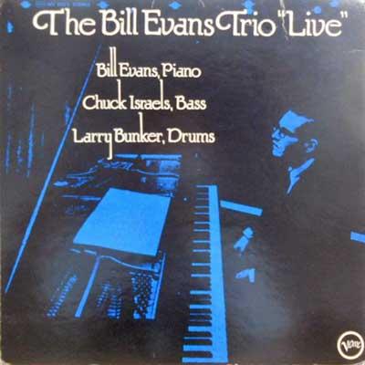 BILL EVANS TRIO - Live - LP