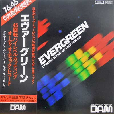 DYNAMIC SPECIAL SOUND ORCHESTRA - EVERGREEN: DYNAMIC SOUND BY JAZZ FEELING - LP