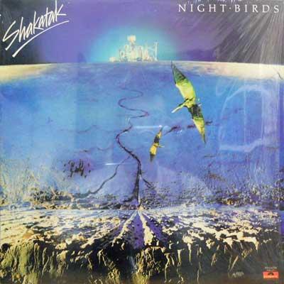 SHAKATAK - Night Birds - LP