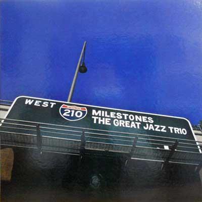 GREAT JAZZ TRIO - Milestones - LP