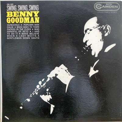 BENNY GOODMAN - Swing Swing Swing - LP