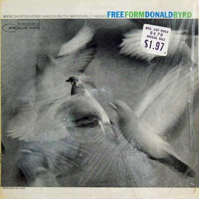 DONALD BYRD - Free Form - LP