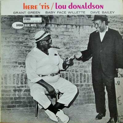 LOU DONALDSON - Here 'Tis - LP