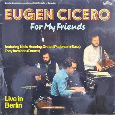 EUGEN CICERO - For My Friends - LP