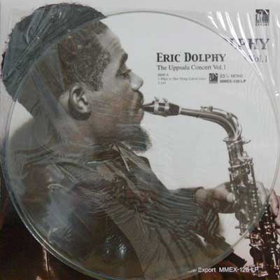 ERIC DOLPHY - The Uppsala Concert Vol. 1 - LP