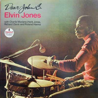 ELVIN JONES - Dear John C - LP