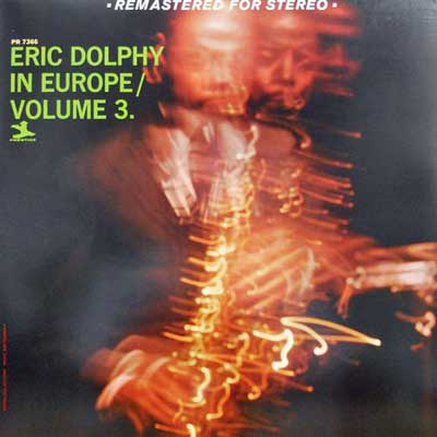 ERIC DOLPHY - In Europe Volume 3 - LP