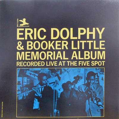 ERIC DOLPHY BOOKER LITTLE - Memorial Album - LP