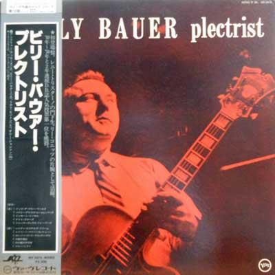 BILLY BAUER - Plectrist - LP