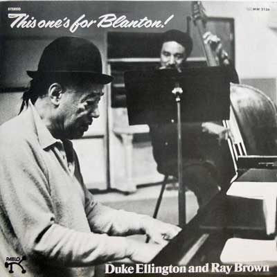 DUKE ELLINGTON AND RAY BROWN - This One's For Blanton - LP