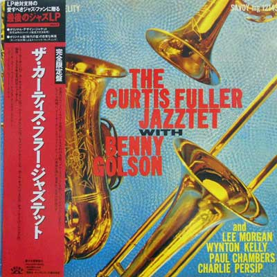 CURTIS FULLER - The Curtis Fuller Jazztet With Benny Golson - LP