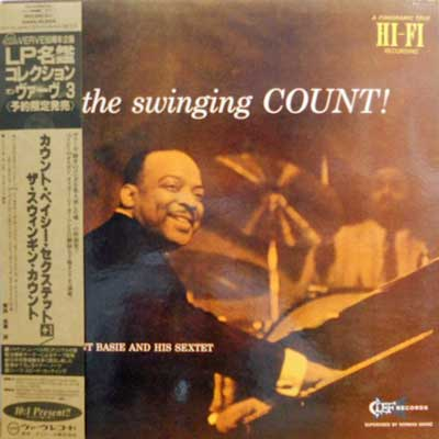 COUNT BASIE & HIS SEXTET - The Swinging Count - LP