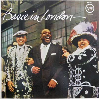 COUNT BASIE AND HIS ORCHESTRA - Basie In London - LP