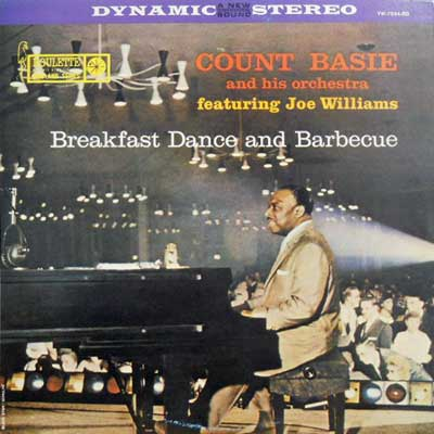 COUNT BASIE & HIS ORCHESTRA - Breakfast Dance & Barbecue - LP