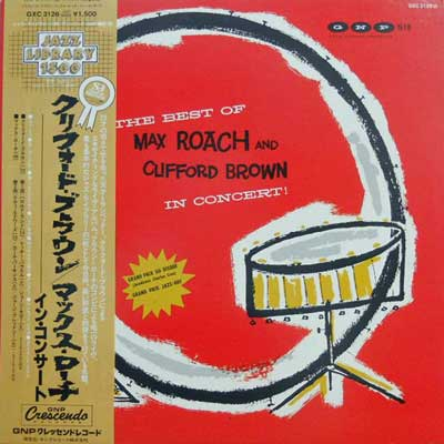 MAX ROACH & CLIFFORD BROWN - In Concert: The Best Of - LP