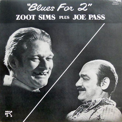 ZOOT SIMS JOE PASS - Blues For Two: 2 - LP