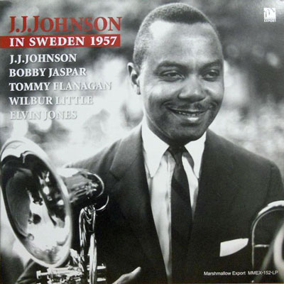 J. J. JOHNSON - In Sweden 1957 - LP