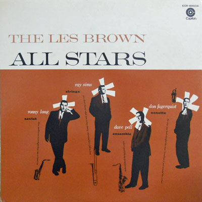 LES BROWN ALL STARS - Les Brown All Stars - LP