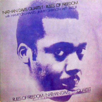 NATHAN DAVIS QUINTET - Rules Of Freedom - LP