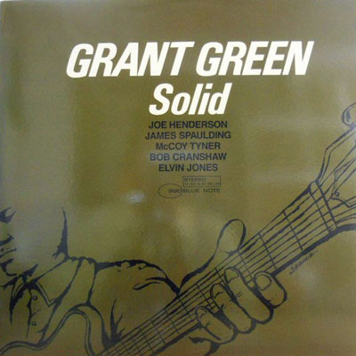 GRANT GREEN - Solid - LP