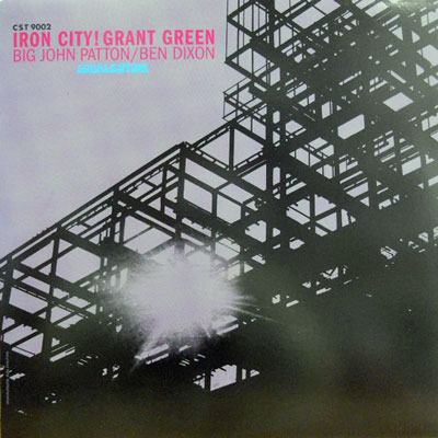 GRANT GREEN - Iron City - LP