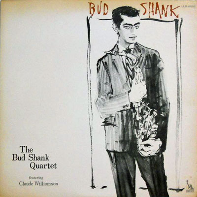 BUD SHANK QUARTET - Featuring Claude Williamson - LP