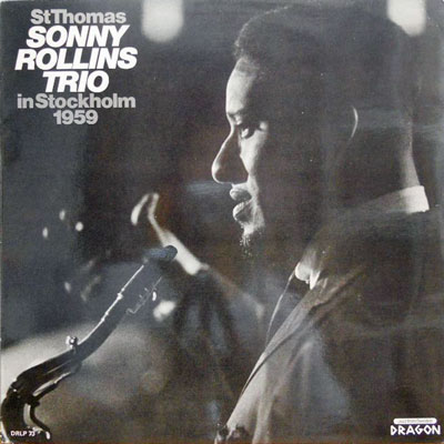 SONNY ROLLINS - Sonny Rollins & The Contemporary Leaders - LP