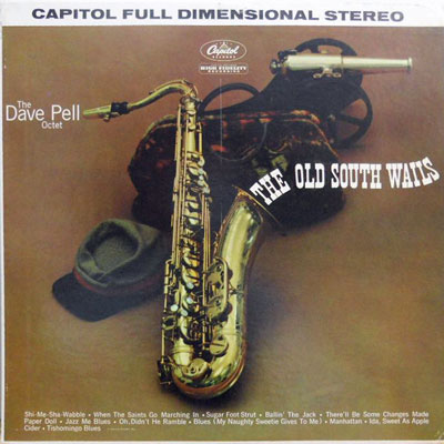 DAVE PELL OCTET - Plays Rodgers & Hart - LP