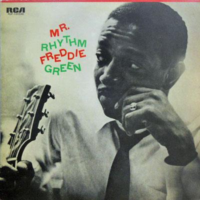 FREDDIE GREEN - Mr. Rhythm - LP