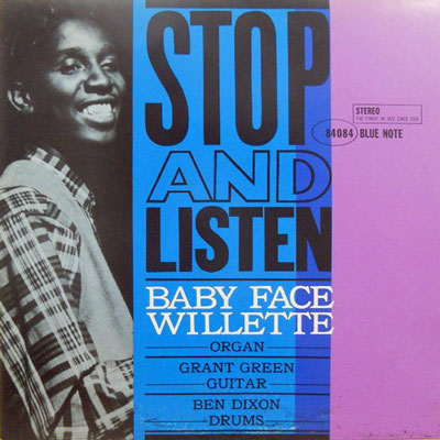 BABY FACE WILLETTE - Stop And Listen - LP