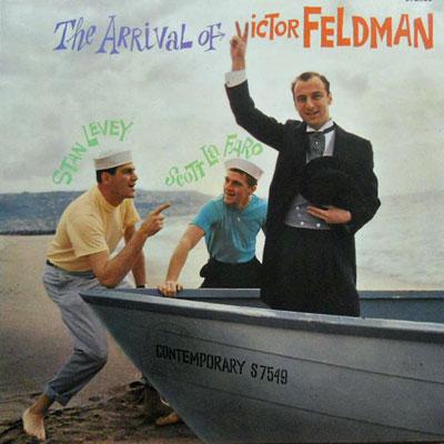 VICTOR FELDMAN - The Arrival Of - LP