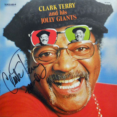 CLARK TERRY & HIS JOLLY GIANTS - Clark Terry And His Jolly Giants - LP