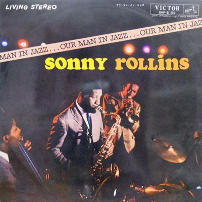 SONNY ROLLINS - Our Man In Jazz - LP